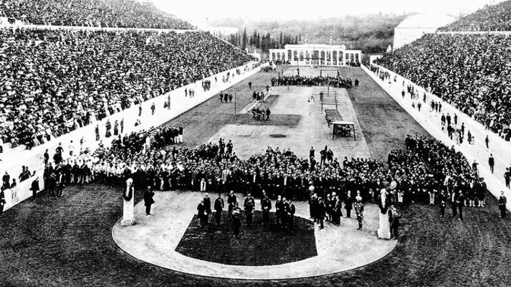 Cérémonie d'ouverture des Jeux d'Athènes 1896