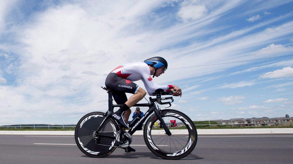 Athlète d'Équipe Canada en vélo de route