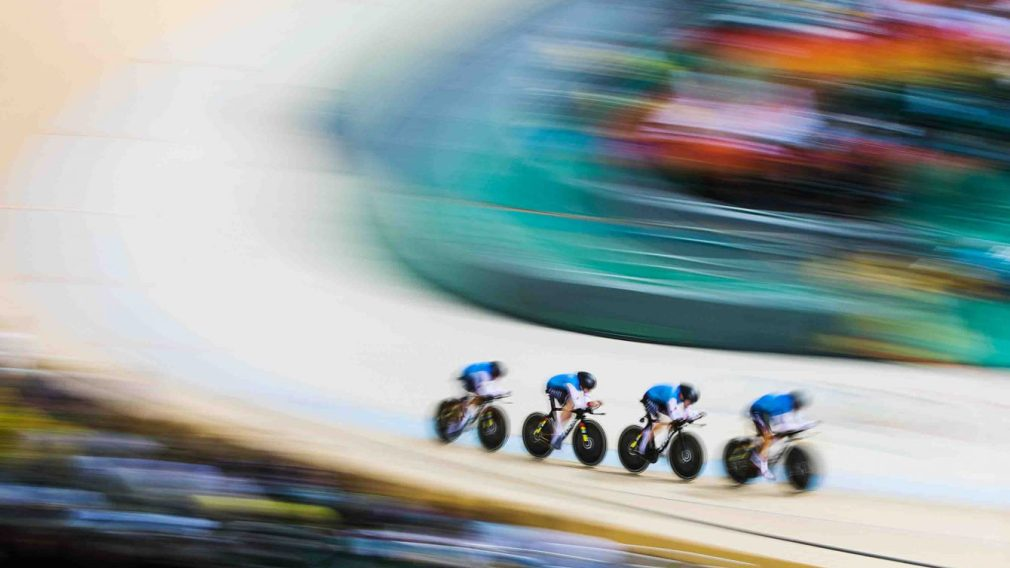 Course de cyclisme d'équipe
