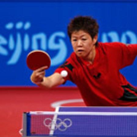 Judy Long aux Jeux olympiques de Beijing en 2008