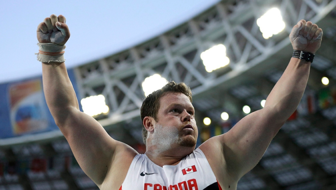 Russia Athletics Worlds Dylan Armstrong