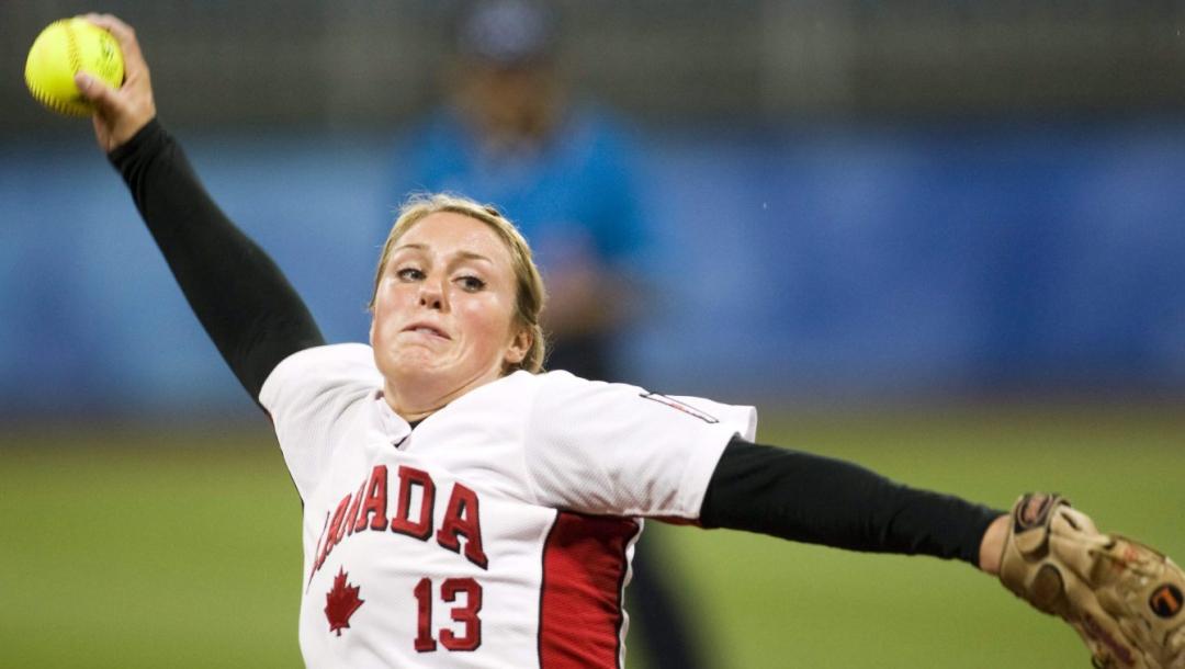 Équipe Canada Danielle Lawrie Softball