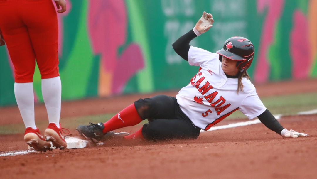 Équipe Canada Joeye Lye Softball