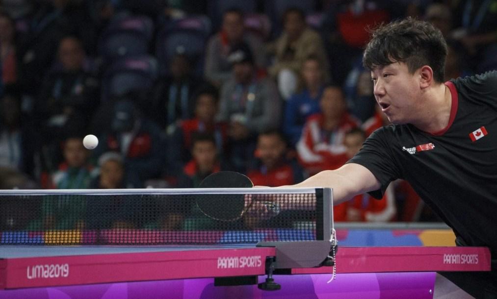 Eugene Wang en action