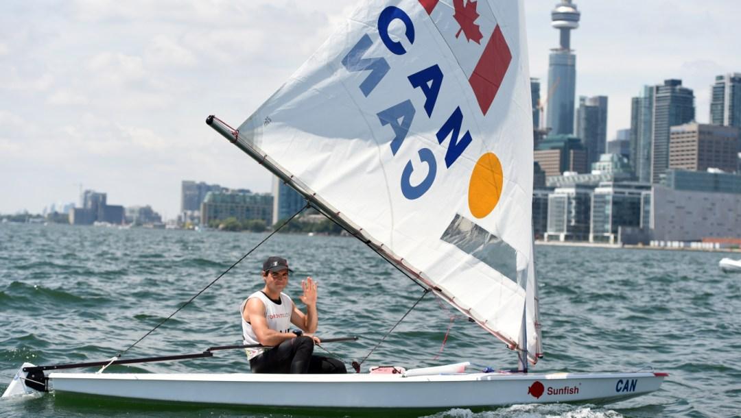 Luke Ramsay-Sailing Sunfish