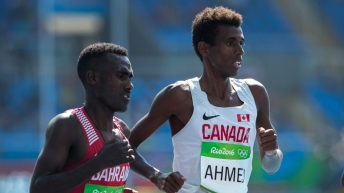 Équipe Canada Mohammed Ahmed Athlétisme Rio 2016