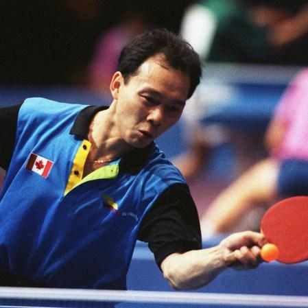 Joe Ng aux Jeux olympiques de Barcelone en 1992.