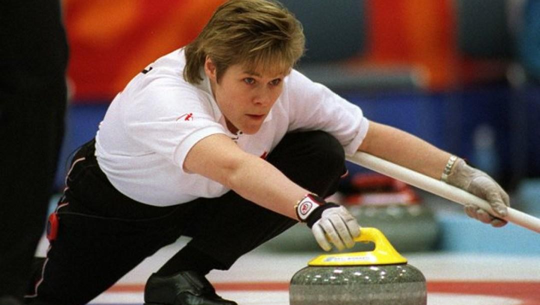 SANDRA SCHMIRLER - NAGANO OLYMPICS- WOMEN'S CURLING