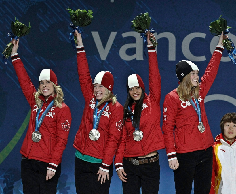 Tania Vicent, Marianne St-Gelais, Kalyna Roberge, Jessica Gregg