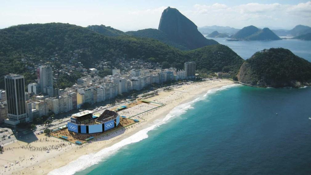 Les Canadiens premiers à fouler le sable de Rio
