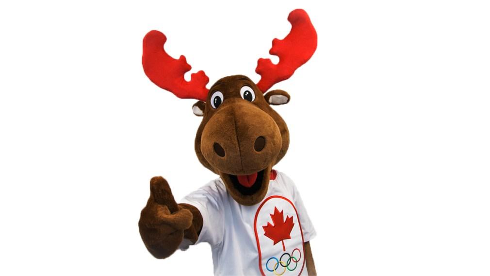 Komak, la mascotte de l'Équipe olympique canadienne
