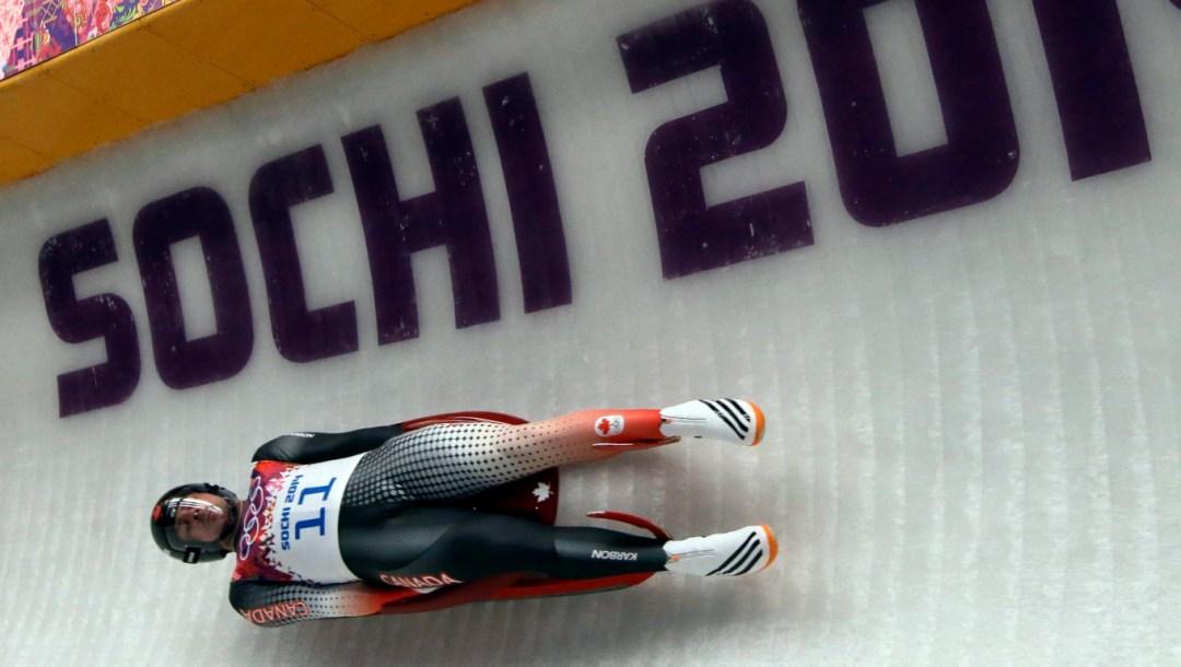 Equipe Canada - Sochi Olympics Luge Men