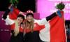 Kaillie Humphries et Heather Moyse porteront le drapeau du Canada