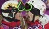 Justine et Chloé Dufour-Lapointe médaillées d'or et d'argent aux bosses à Sotchi