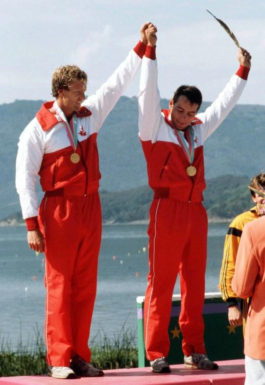 Fisher et Morris sur le podium