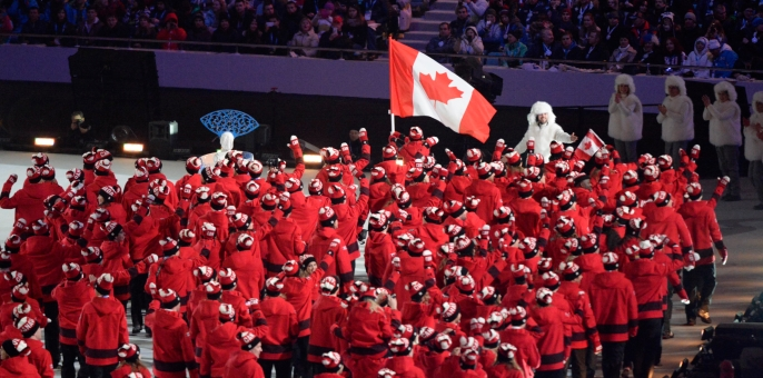 L'Équipe olympique canadienne 1