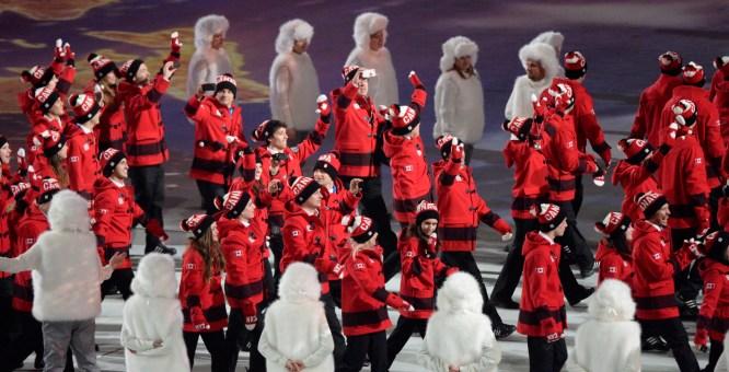 L'Équipe olympique canadienne 2