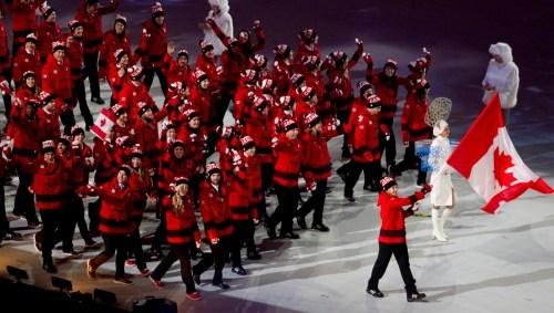 L'Équipe olympique canadienne 4