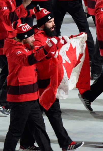 L'Équipe olympique canadienne 5