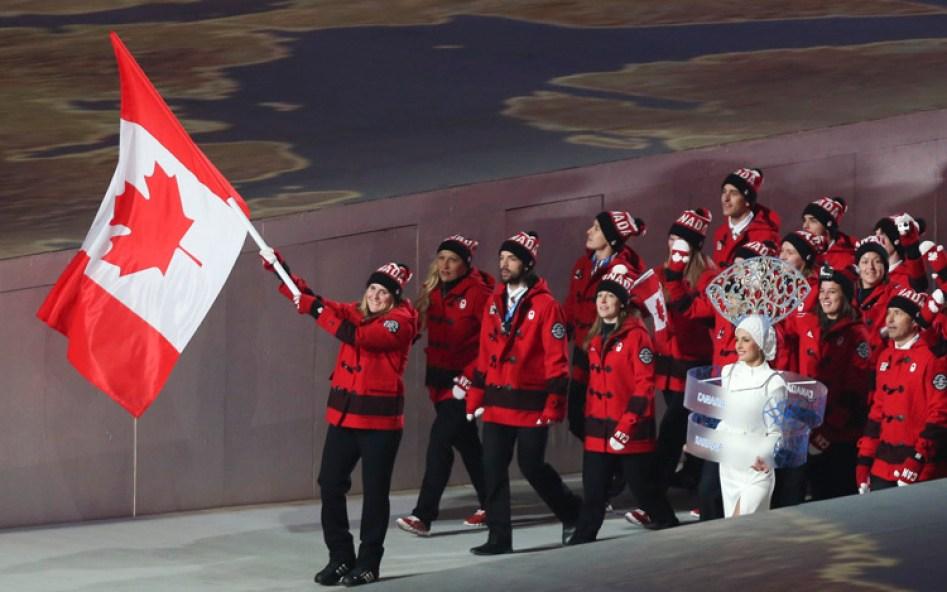 L'Équipe olympique canadienne 6