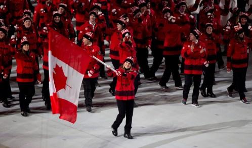 L'Équipe olympique canadienne 8