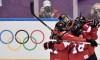 Équipe Canada remporte l'or en prolongation au hockey féminin