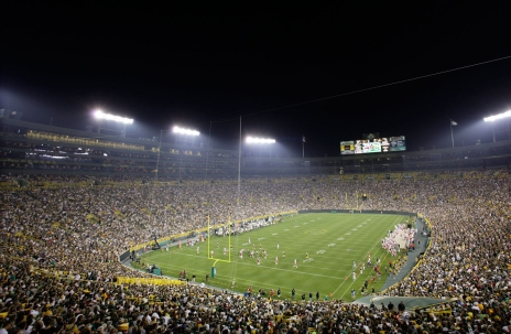 Lambeau Field. Photo : PC