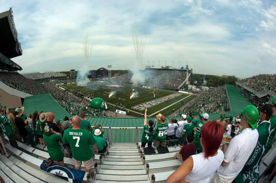 Mosaic Stadium at Taylor Field. Photo : PC