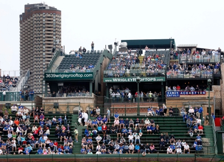 Wrigley Field. Photo : PC