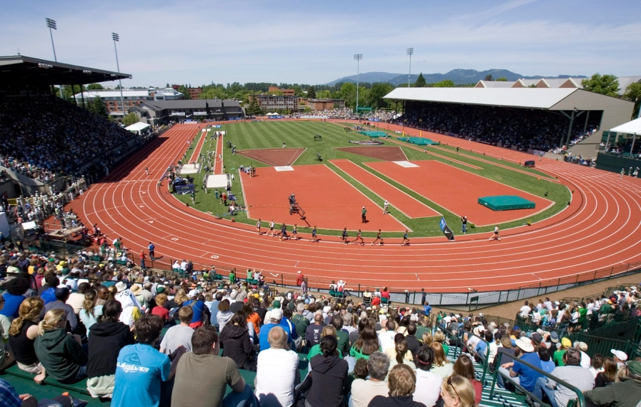 Hayward Field. Photo : PC