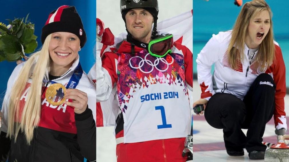 Votez pour l'Athlète de l'année Air Canada 2014