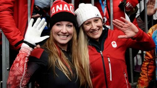 Kaillie Humphries et Heather Moyse ont gagné l'or à Sotchi, elles qui défendaient leur titre olympique.