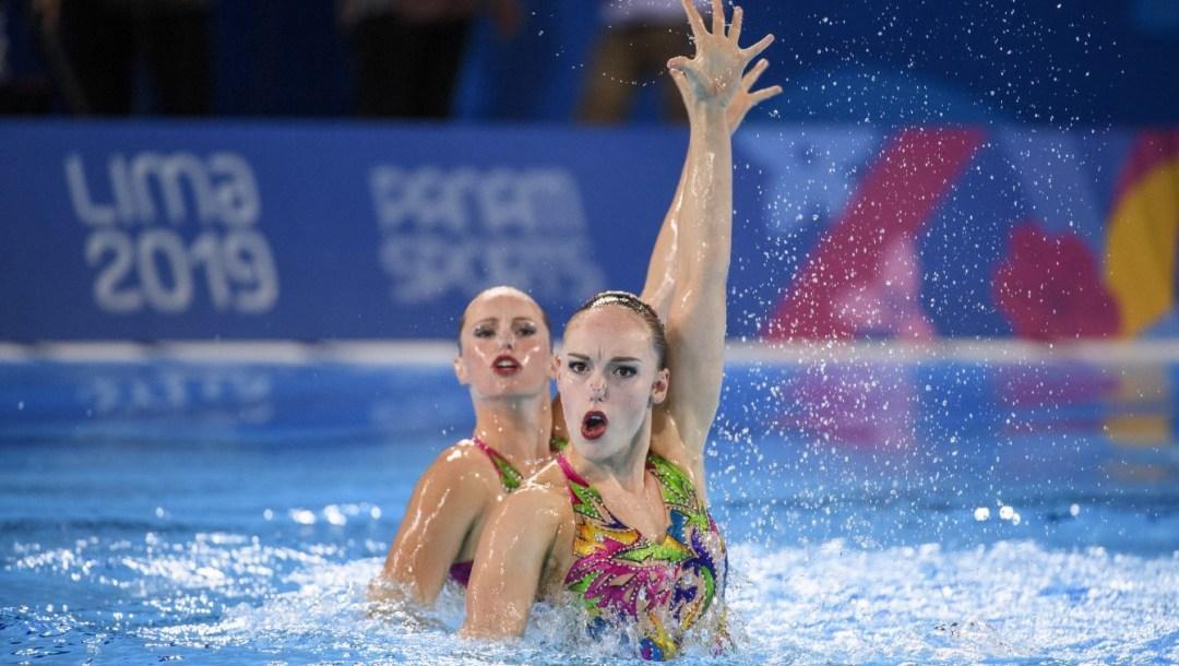 Équipe Canada Claudia Holzner Jacqueline Simoneau natation artistique