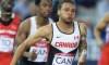 Bruny Surin et Donovan Bailey prêts à passer le relais au jeune sprinteur Andre De Grasse