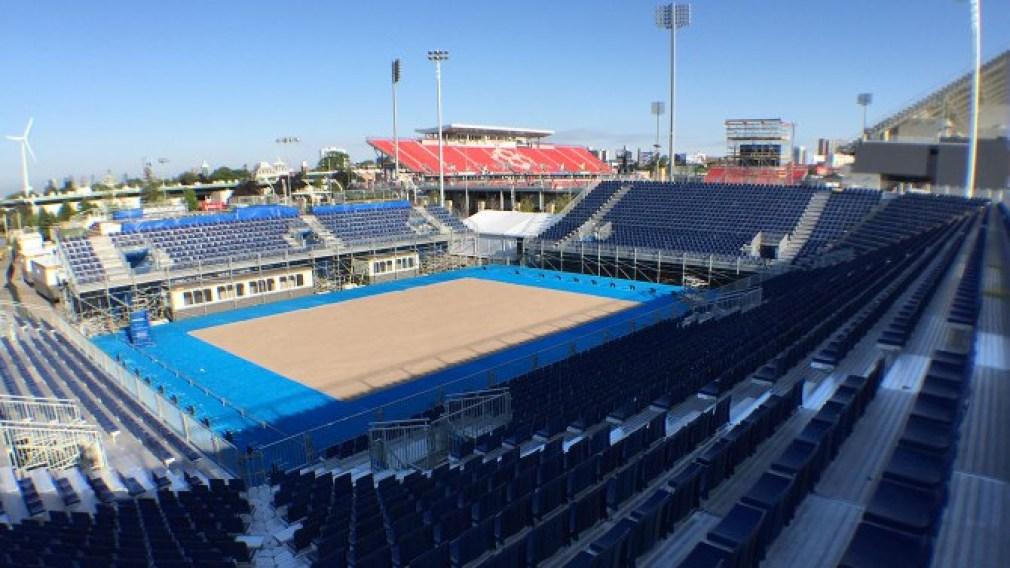 Guide des sites: Centre de volleyball de plage