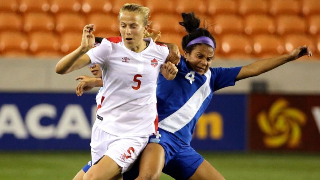 Equipe Canada - soccer - Rebecca Quinn
