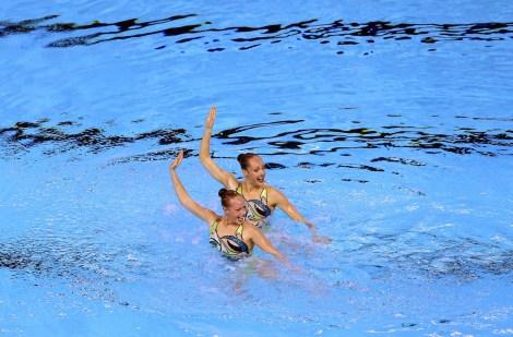 Karine Thomas et Jacqueline Simoneau. Photo par Vaughn Ridley.