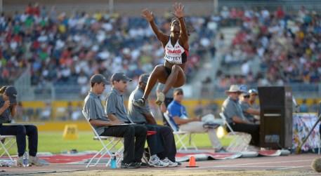Christabel Nettey aux Jeux panaméricains de Toronto