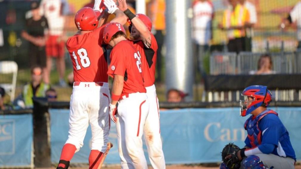 L'équipe canadienne masculine de baseball se prépare à défendre son titre panaméricain