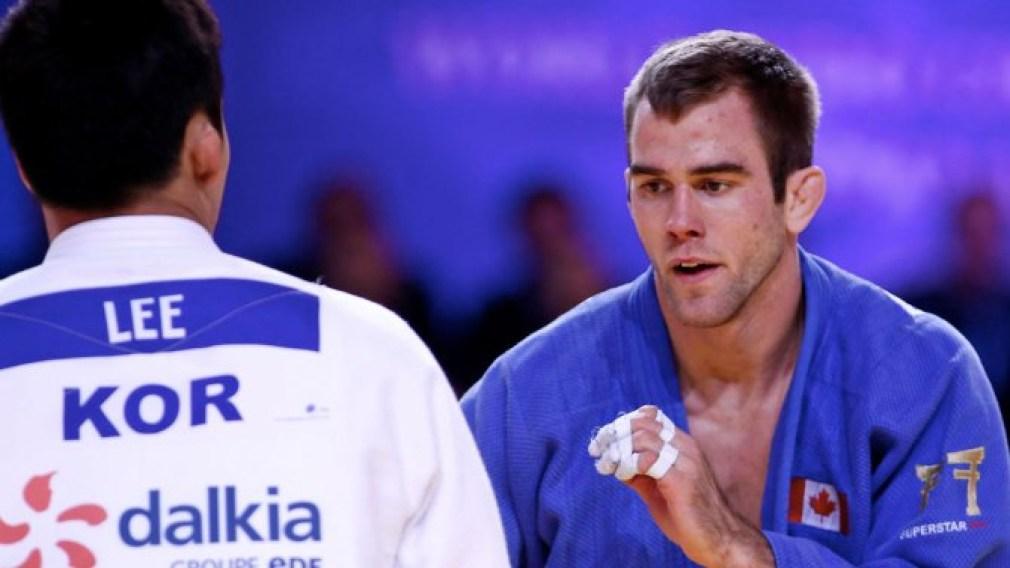 Le Québécois Antoine Valois-Fortier capture le bronze aux Mondiaux de judo.