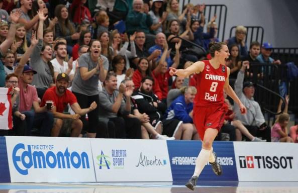 La capitaine Kim Gaucher (Photo: FIBA)