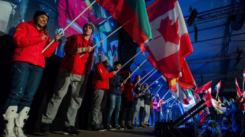 Les jeunes sources d'inspiration d'Équipe Canada à Lillehammer 2016