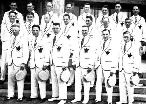 L'équipe de crosse du Canada participe aux Jeux olympiques d'Amsterdam de 1928. (Photo PC/AOC)