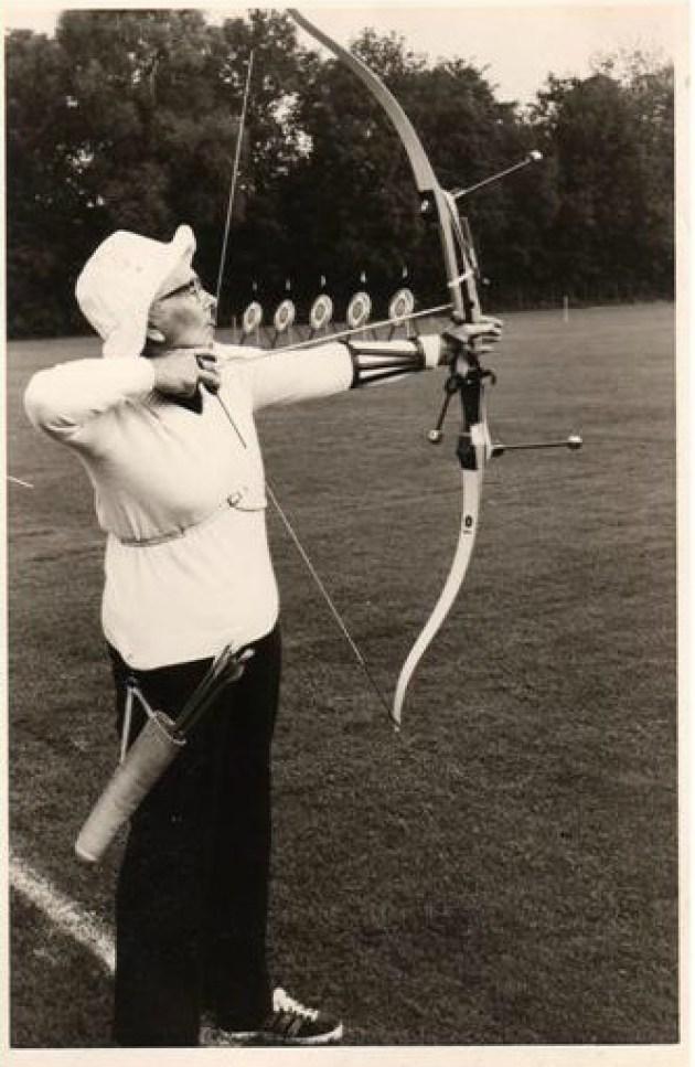 Margery Saunders (Photo : Club de tir à l'arc de Maple Ridge)