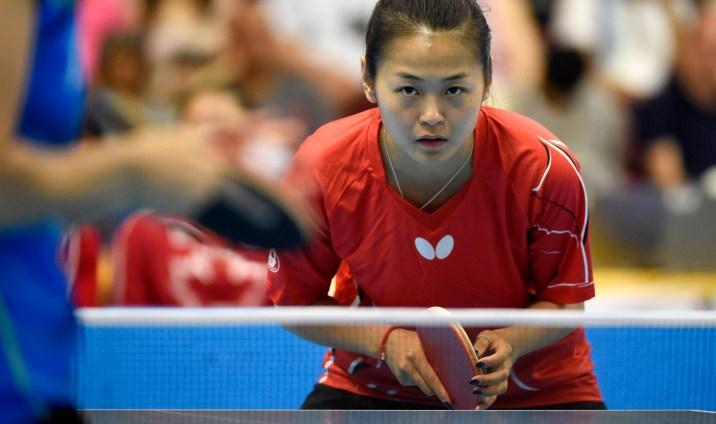 Mo Zhang aux Jeux panaméricains de Toronto, le 19 juillet 2016. Jeffrey Sze/COC