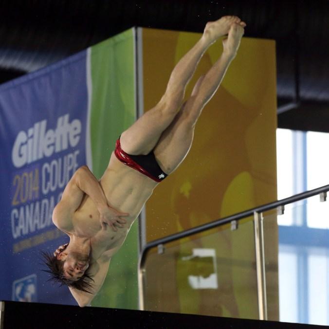 Maxim Bouchard à la Coupe Canada de Gatineau, le 3 mai 2014. THE CANADIAN PRESS/Fred Chartrand