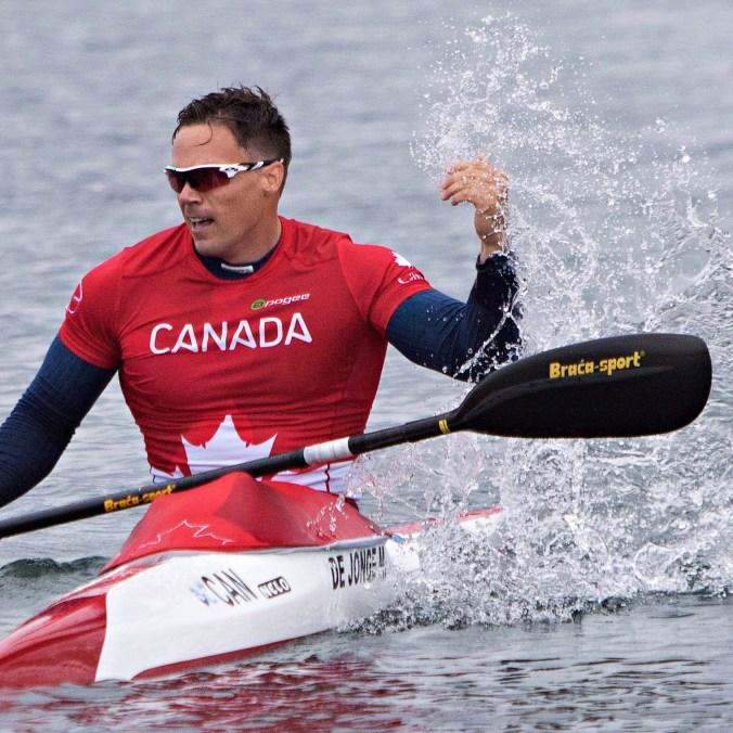 Mark de Jonge aux Jeux panaméricains de Toronto en 2015.