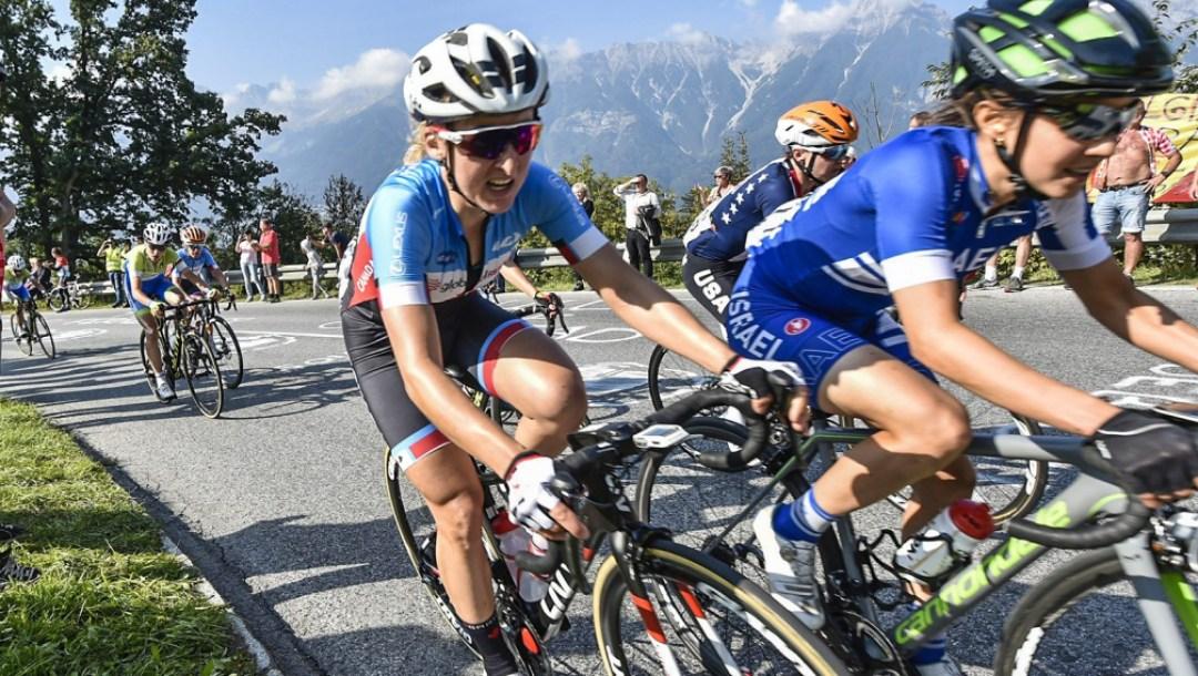 Équipe Canada Leah Kirchmann Cyclisme sur route