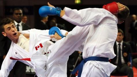 Le Karaté sera du programme de Tokyo 2020 (Photo : Karate Canada)