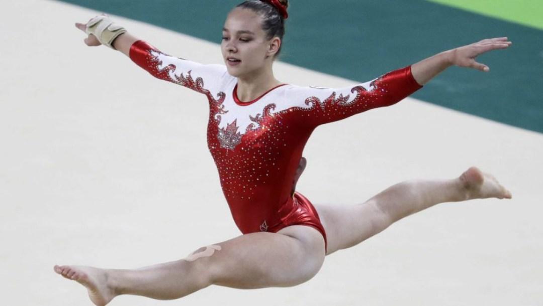 Equipe Canada - gymnastique - shallon olsen